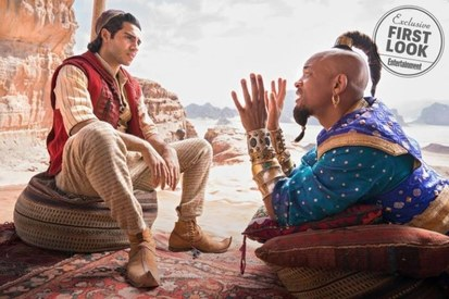 We now know what Aladdin and the gang will look like in Disney's reboot