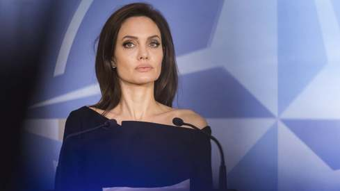 Is Angelina Jolie planning on entering politics?
