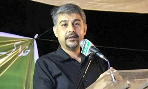 Sindh CM, police chief claim 'important arrests' made in Ali Raza Abidi murder case