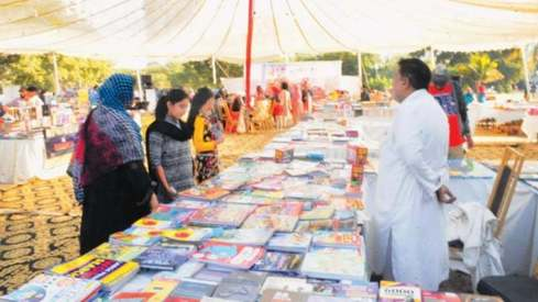 Frere Hall's Sunday book bazaar has been revived