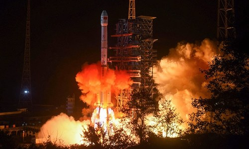 China lands probe on far side of moon in world first