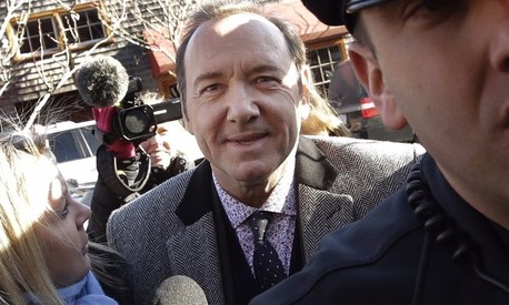 Kevin Spacey pleads not guilty to sexual assault of young man