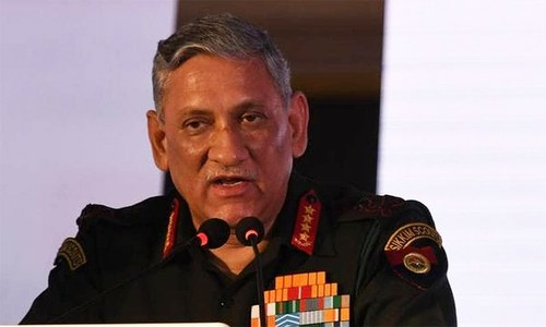 Peace talks with Taliban welcome as long as there are no preconditions: Indian army chief