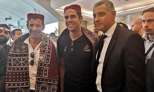 'Thank you for the warm welcome': Kaka, Figo kick off World Soccer Stars 2019 in Karachi