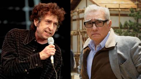 Martin Scorsese is making a film on Bob Dylan for Netflix