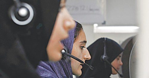 HEALTH: WAKE UP CALL FOR CALL CENTRES