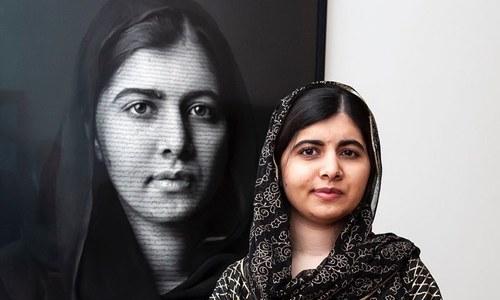 ملالہ کے کمرے میں کس شخص کی تصویر ہے؟