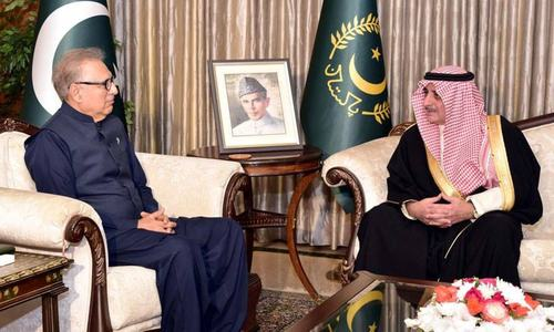 Saudi governor holds meetings with Pakistan's civil, military leadership