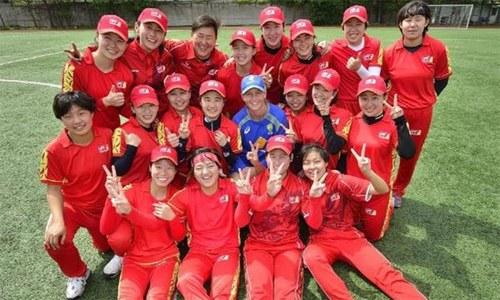 چین کی ٹیم کا ٹی20 کرکٹ میں نیا عالمی ریکارڈ