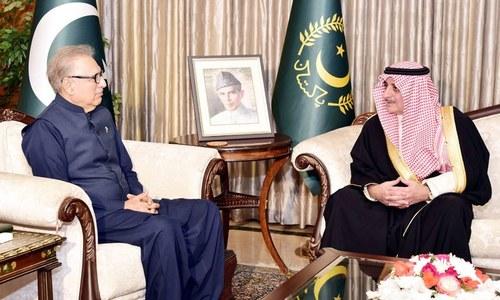 سعودی گورنر کی پاکستان کی اعلیٰ سیاسی، عسکری قیادت سے ملاقاتیں