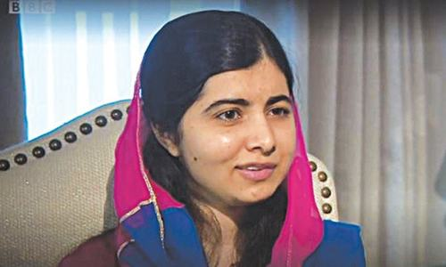 Have a photo of Benazir in my dorm: Malala