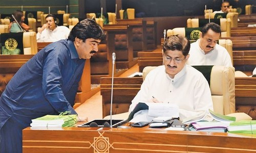 Sindh PA asks Centre to announce provinces' share in new NFC award