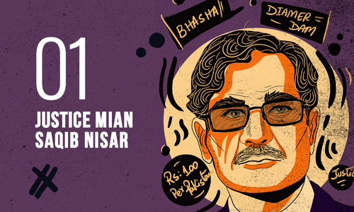Chief Justice Saqib Nisar: For judging too much