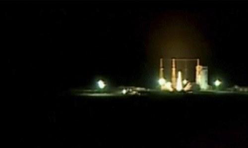 ایران کی خلا میں سیٹلائٹ بھیجنے کی کوشش ناکام
