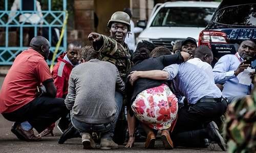 Blast, gunfire in attack at Nairobi hotel, office complex