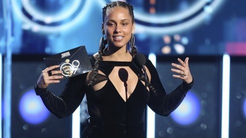 Alicia Keys will host this year's Grammy Awards