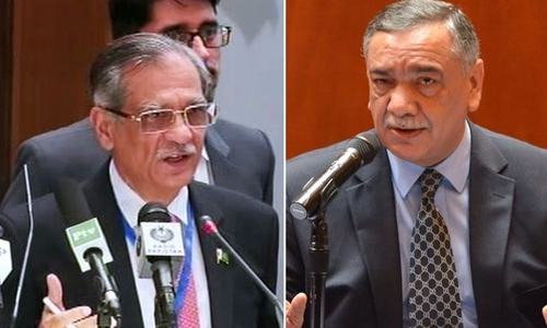 'Suo motu notices to be taken sparingly,' says Justice Khosa at full court reference for CJP Nisar