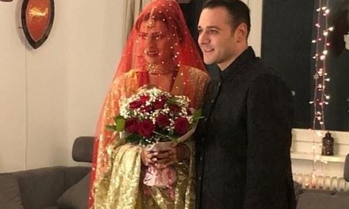 پاکستانی ماڈل فیا خان نے خاموشی سے غیر ملکی سے شادی کرلی