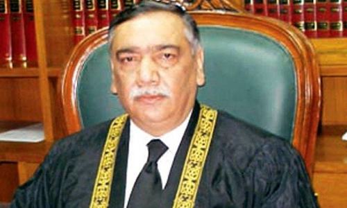 Complete text of address by Justice Asif Saeed Khosa at full court reference for CJP Nisar