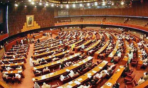 قومی اسمبلی کا اجلاس، 72 اراکین غیر حاضر