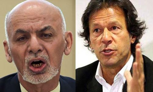 افغان صدر کا وزیراعظم عمران خان سے بذریعہ فون رابطہ