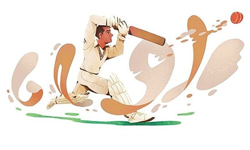 Google pays tribute to father of Pakistani cricket