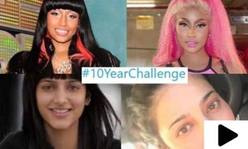 سوشل میڈیا پر مقبول ٹرینڈ 10 ائیر چیلنج کا اصل مقصد کیا ہے؟