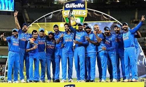 آسٹریلیا کو بھارت کے ہاتھوں ٹیسٹ کے بعد ون ڈے سیریز میں بھی شکست