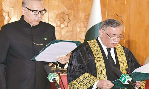 Justice Khosa takes up reins of Supreme Court