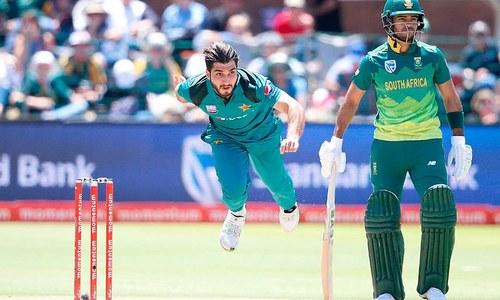 پہلا ون ڈے: جنوبی افریقہ کی ٹاس جیت کر بیٹنگ