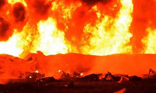 میکسکو میں تیل کی پائپ لائن میں دھماکا، 21 افراد ہلاک