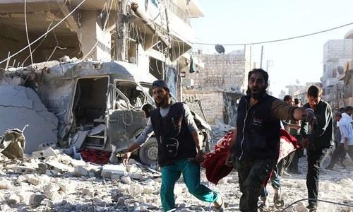 شام: امریکی فضائی حملے میں بچوں سمیت 16 افراد ہلاک