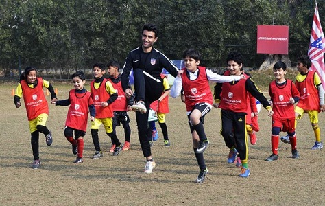 Atletico Madrid shoot for football future in cricket-mad Pakistan