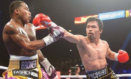 Pacquiao outpoints Broner in unanimous verdict