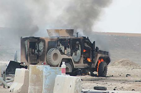 Suicide attack on Kurdish-US convoy kills five in Syria