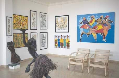 Ghanaian art popularity stokes calls for national gallery