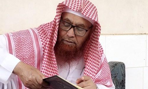 سعودی عرب: 5 ماہ سے جیل میں قید امام مسجدِ نبوی انتقال کرگئے