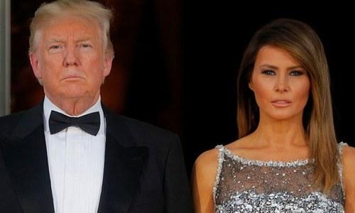 ڈونلڈ اور میلانیا ٹرمپ بدترین اداکاری کے لیے نامزد