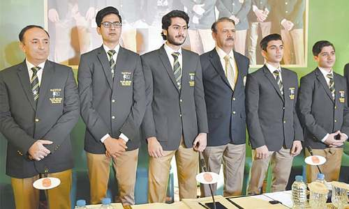 Alvi praises triumphant junior squash team