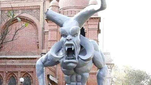 Lahore Museum's 'satanic' statue is gone. Should it have been displayed there?