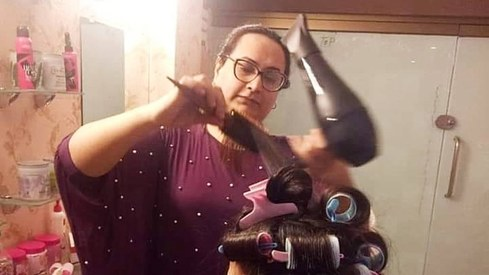 This new salon in Karachi is a dream come true for transgender activist Bebo Haider