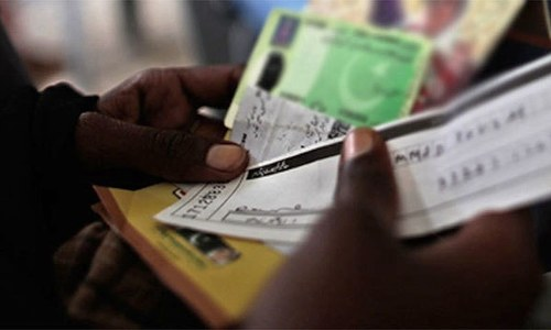 1,800 CNICs stolen from Nadra office ahead of PS-94 by-polls in Karachi
