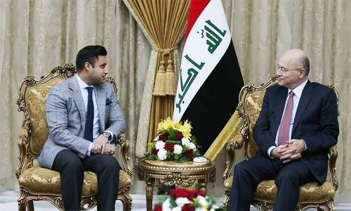 PM adviser Zulfi Bukhari meets Iraqi president, seeks to increase labour force in Iraq
