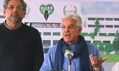 If opposition leader cannot come to parliament, neither can the prime minister: Khawaja Asif