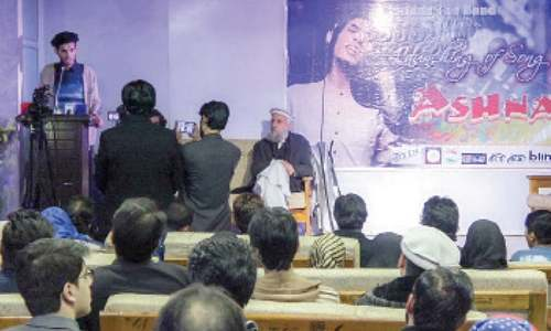 Young artists' role in promotion of Pashto music highlighted