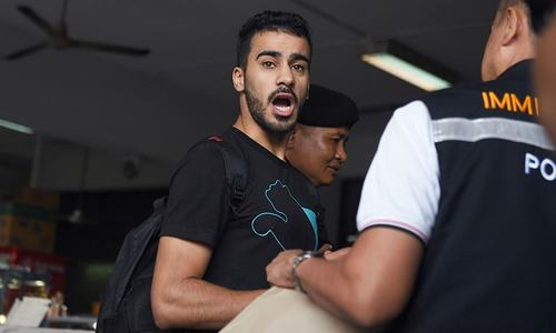 Activists slam Asian Cup 'gag' over detained Bahraini footballer
