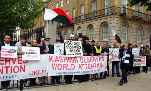 UK regrets Kashmiris, Sikhs' anti-India protests