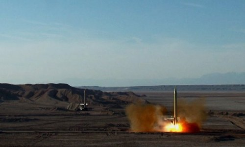 Iran denies any intention of boosting range of missiles