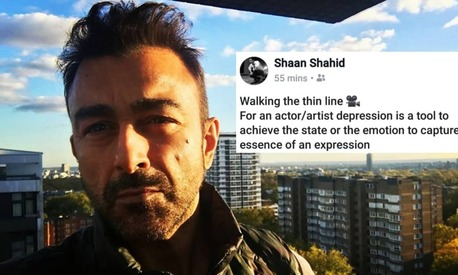 Shaan Shahid has something to say about actors and depression, but he didn't get it right