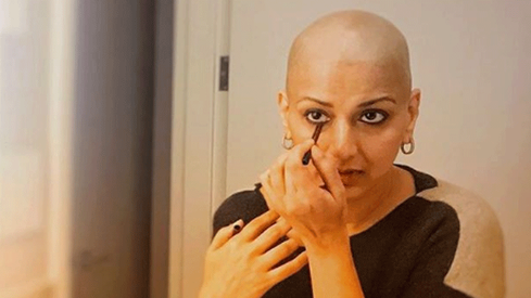 Sonali Bendre is back to work post-cancer treatment